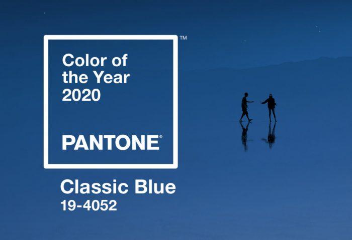 Cor de 2020 Pantone 19-4052 Classic Blue